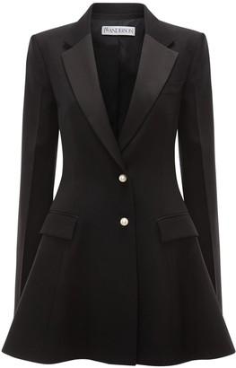 J.W.Anderson Wool Peplum Tuxedo Jacket
