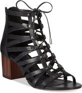 Aldo Women's Myssi Lace-Up Block Heel Sandals