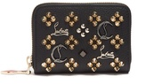 Christian Louboutin Panettone Loubisky leather coin purse