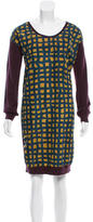 Cacharel Long Sleeve Wool Dress