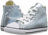 Converse Chuck Taylor® All Star® Metallic Canvas Hi (Infant/Toddler)