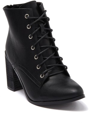 Chase & Chloe Roy Lace-Up Boot