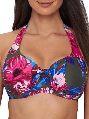 Pour Moi? Heatwave Cape Verde Halter Bikini Top