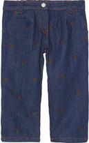 Gucci Soft denim trousers