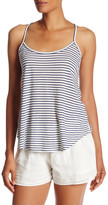 Soft Joie Yahto Striped Linen Blend Trapeze Tank