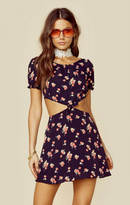 For love and lemons cherry waist cut out dress