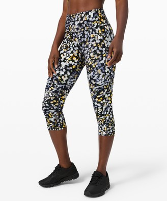 "Lululemon Fast and Free Crop 19"" *Non-Reflective Nulux"