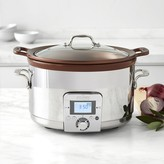All-Clad Gourmet Slow Cooker with All-in-One Browning, 5-Qt.