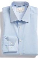 Ted Baker Men's 'Langar' Trim Fit Micro Pattern Dress Shirt