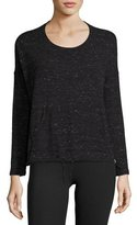 Vimmia Renew Scoop-Neck Pullover Performance Top, Black