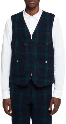Woolrich Wool Plaid Hunting Vest