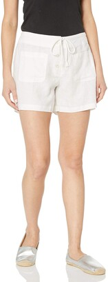 Margaritaville Women's Linen Button Front Pant