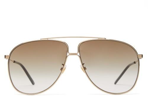 117b5d878aa Gucci Aviator Mens - ShopStyle