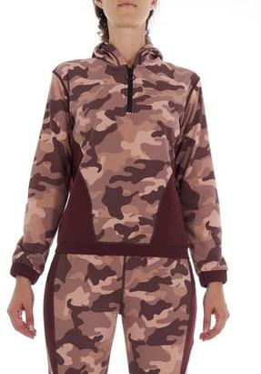 BSP Women's Active 1/4 Zip Hoodie with Pockets