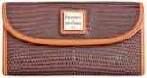 Dooney & Bourke Lizard-Embossed Continental Clutch Wallet, Created for Macy's