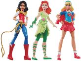 Mattel DC Comics DC Super Hero Girls Wonder Woman, Supergirl & Poison Ivy Action Figures by