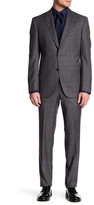 Ted Baker Jay Trim Fit Windowpane Wool Suit