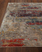Josie Natori Lhasa Sunset Hand-Knotted Rug, 8' x 10'