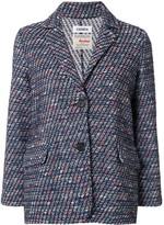Coohem tweed single breasted blazer
