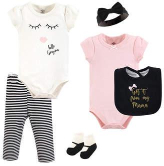 Baby Vision Little Treasure Unisex Baby Layette Set, Mama, 6-Piece Set, 9-12 Months