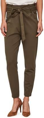 Vero Moda Eva Loose-Fit Paperbag Pants