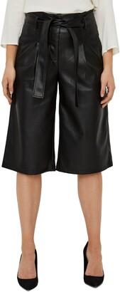 Vero Moda Lilja High Waist Coated City Shorts