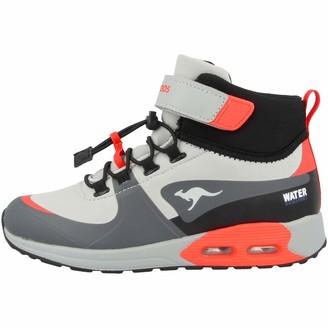 KangaROOS Unisex Adults 18390 Ankle Boots Grey Size: 7.5 UK