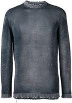 Avant Toi high neck slim-fit jumper - men - Cotton/Linen/Flax/Cashmere - L