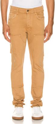 Amiri Workman Skinny Pant in Brown | FWRD