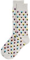 Happy Socks Men's Mini Diamond Socks