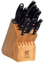 Zwilling J.A. Henckels Zwilling Twin Signature 11-Piece Stainless Steel Knife Block Set