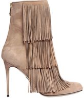 Paul Andrew 95mm Taos Fringed Suede Boots