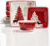 222 Fifth Northwood Cottage 12-Pc Dinnerware Set