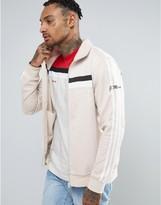 adidas 83-C Track Jacket In Beige BK7523