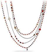 "David Yurman Spring Bead Layering Necklace, 82"""
