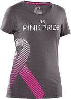 Under Armour Power in Pink Ribbon T-Shirt