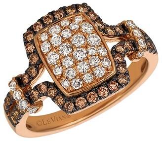 LeVian Chocolatier 14K Strawberry Gold 0.88 Ct. Tw. Diamond Ring
