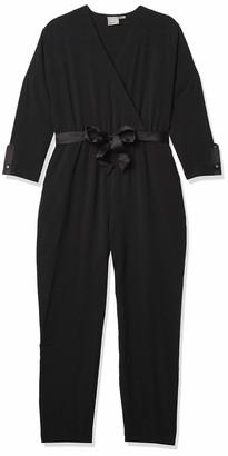 Vero Moda Women's Goia Surplice Wrap Jumpsuit