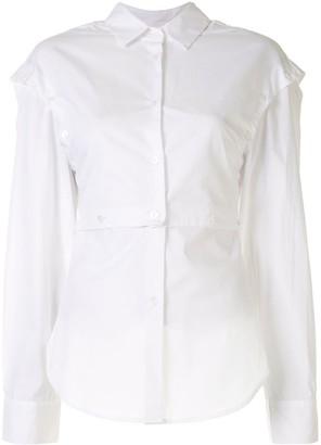 CHRISTOPHER ESBER Deconstruct panelled shirt