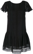 Diesel lace flared dress