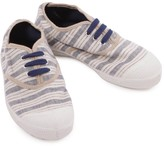 Bensimon Striped Lace up Trainers