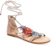 Madden-Girl Sofun Lace-Up Tassel Sandals