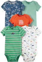 Carter's 5-pk. Bodysuits - Baby Boys newborn-24m