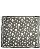 Alexander McQueen Women's 'Skull' Chiffon Scarf