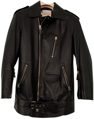Tod's Black Leather Jacket for Women