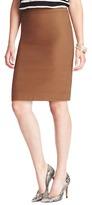 LOFT Tall Doubleface Cotton Canvas Pencil Skirt