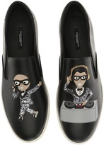 Dolce & Gabbana Embroidered Sneaker Men's Shoes
