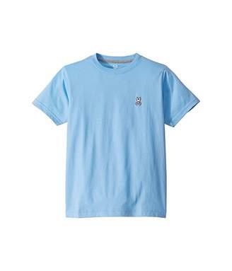 Psycho Bunny Kids Classic Crew Neck Tee (Toddler/Little Kids/Big Kids) (Celeste) Boy's T Shirt