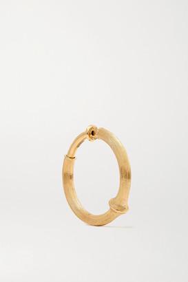 OLE LYNGGAARD COPENHAGEN Nature Large 18-karat Gold Hoop Earring - one size