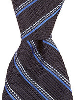 Daniel Cremieux Grenadine Stripe Traditional Silk Tie